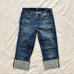 7 for all Mankind Cropped Jean. Size: 24